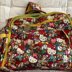 Jujube Hello Kitty Tick Tock Diaper Bag